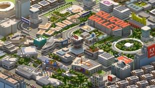 Лендинг про бизнес-туры в Силиконовую долину